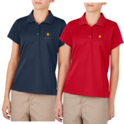 New Girls Moisture Wicking Polo - Both Colors