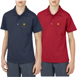 New Boys Polo moisture wicking