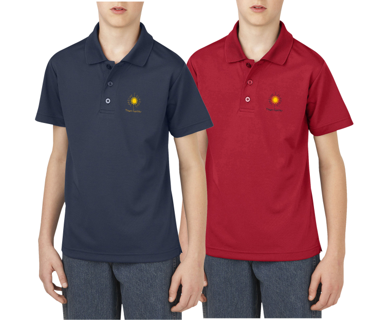 Boys Dickies Performance Polo 100 Polyester Moisture
