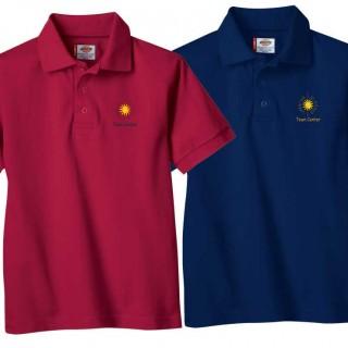 60/40 Open Weave Unisex Polo